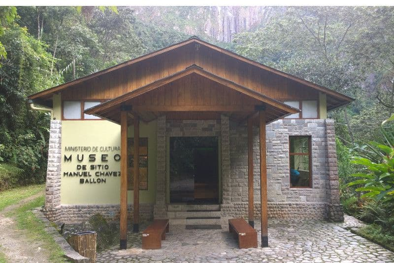 Aguas Calientes, musée du site Manuel Chávez Ballón